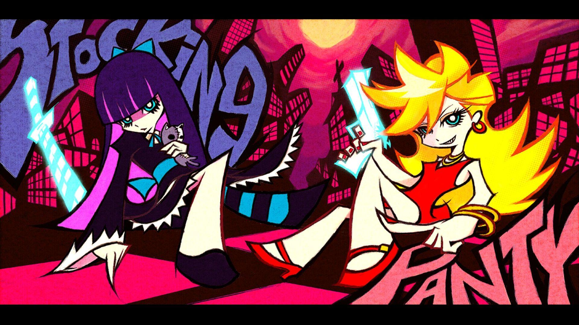 Panty & Stocking with Garterbelt BD