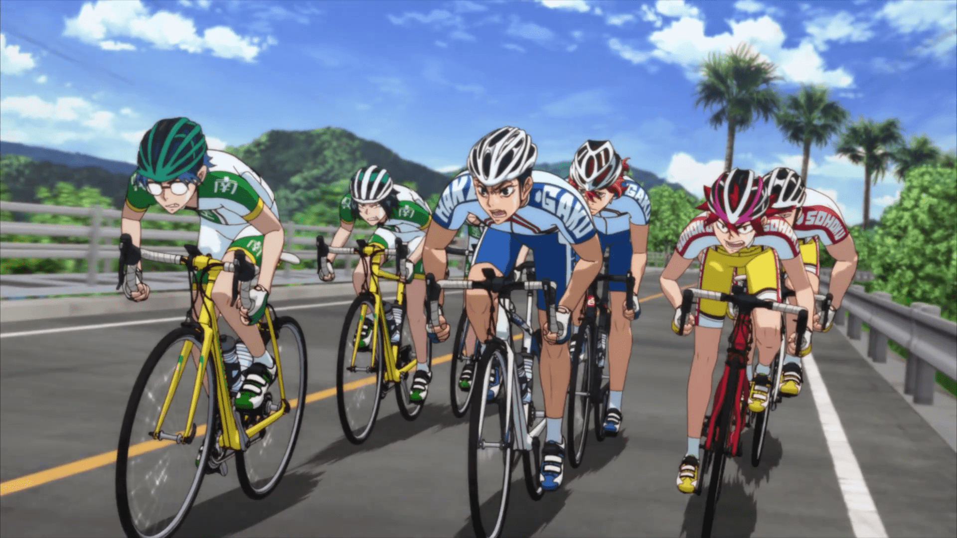 Yowamushi Pedal Movie BD