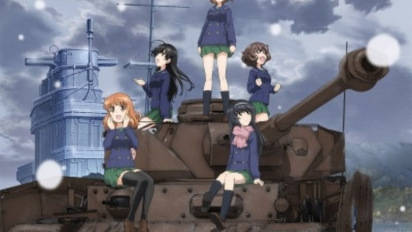Girls & Panzer: Saishuushou Part 1 BD