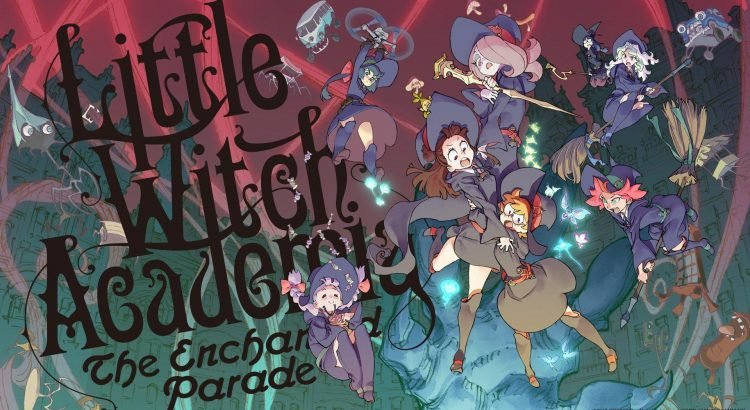 Little Witch Academia Mahoujikake no Parade BD