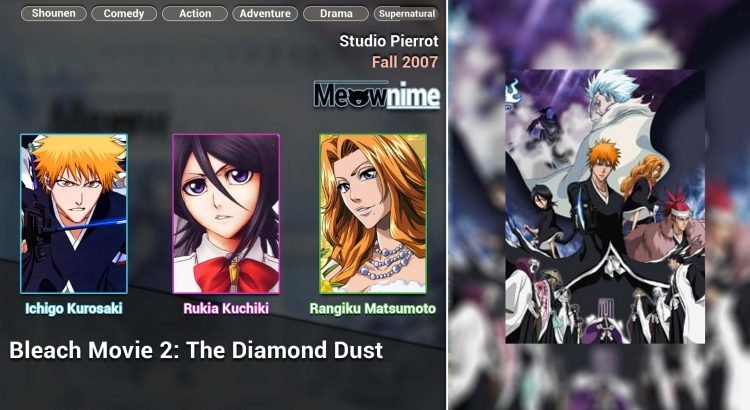 Bleach Movie 2 The DiamondDust Rebellion - Mou Hitotsu no Hyourinmaru